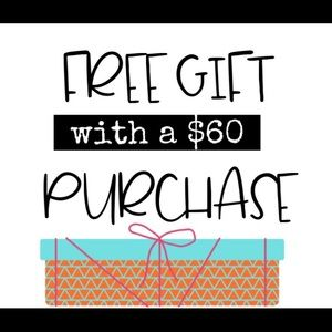 🥰🥰Free Gift with purchase $60+ 🥳read below